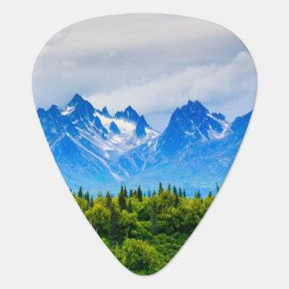 アラスカ威厳のあるな山 ギターピック