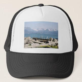 アラスカ山の景色 キャップ