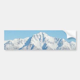 アラスカ山 バンパーステッカー