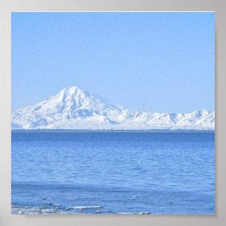 アラスカ山 ポスター