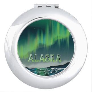 アラスカ州人のオーロラのヴィンテージ旅行ポスター