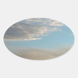 アラスカ州人の意見4 楕円形シール