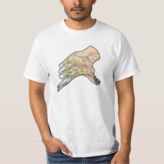 アラスカ手 Tシャツ