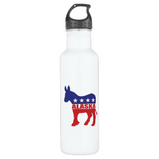アラスカ民主党員のろば ウォーターボトル