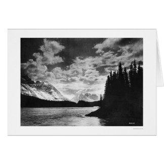 アラスカ見事な山1920年 カード