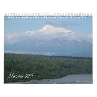 アラスカ2014年 カレンダー