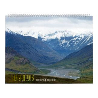 アラスカ2016年 カレンダー