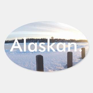 アラスカ。 ステッカー