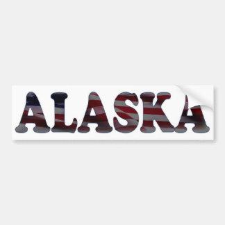 アラスカ バンパーステッカー