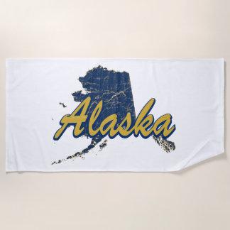 アラスカ ビーチタオル