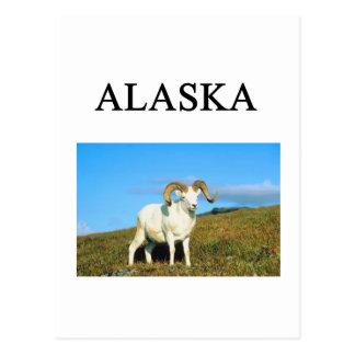 アラスカ ポストカード