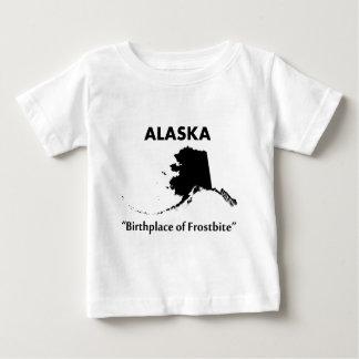 アラスカ-凍傷の出生地 ベビーTシャツ