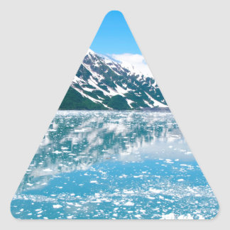 アラスカGlasier 三角形シール