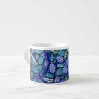 アラバスターのオオタマオシコガネのカブトムシ、Khan el Khalili エスプレッソカップ