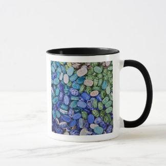 アラバスターのオオタマオシコガネのカブトムシ、Khan el Khalili マグカップ