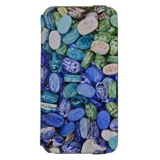 アラバスターのオオタマオシコガネのカブトムシ、Khan el Khalili Incipio Watson™ iPhone 6 財布ケース