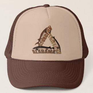 アラバマのチョウザメの投票券-トラック運転手の帽子 キャップ