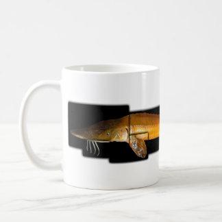 アラバマのチョウザメ- Scaphirhynchusのsuttkusi コーヒーマグカップ