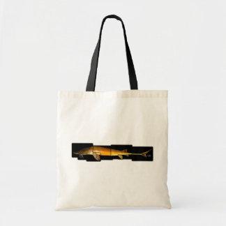 アラバマのチョウザメ- Scaphirhynchusのsuttkusi トートバッグ