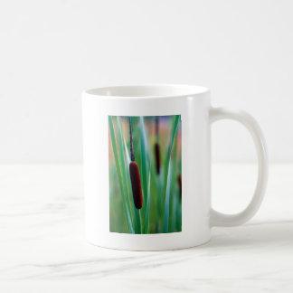 アラバマのネコヤナギの野生の花-ガマのlatifolia コーヒーマグカップ