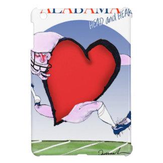 アラバマのヘッドハート、贅沢なfernandes iPad mini case