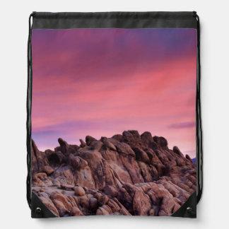 アラバマの丘の日の出 ナップサック