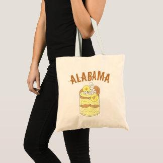 アラバマの南バナナプディングデザートのグルメのAL トートバッグ