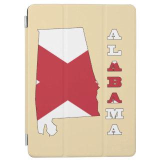 アラバマの地図の旗 iPad AIR カバー
