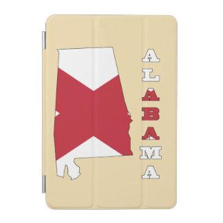 アラバマの地図の旗 iPad MINIカバー