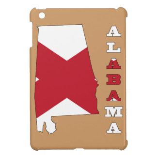 アラバマの地図の旗 iPad MINI CASE