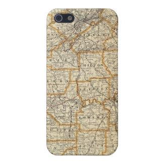 アラバマの地図 iPhone 5 ケース