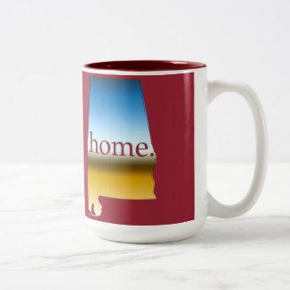 アラバマの家の地平線 ツートーンマグカップ