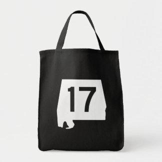 アラバマの州のルート17 トートバッグ