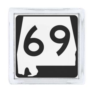 アラバマの州のルート69 シルバー ラペルピン