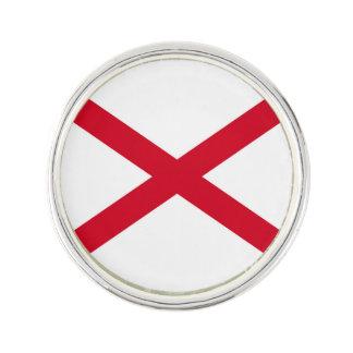 アラバマの州の旗のデザイン ラペルピン