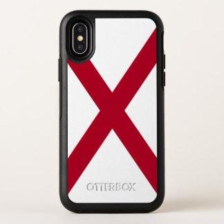 アラバマの州の旗 オッターボックスシンメトリー iPhone X ケース