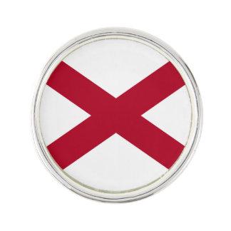 アラバマの州の旗 ラペルピン