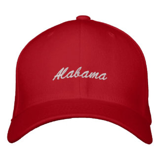 アラバマの帽子 刺繍入りキャップ