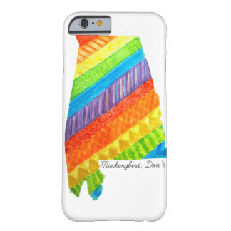 アラバマの平等のiPhone6ケース Barely There iPhone 6 ケース