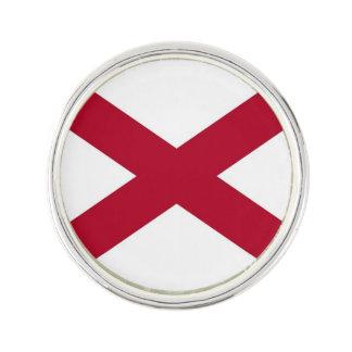 アラバマの旗が付いている愛国心が強く、特別な折りえりピン ラペルピンブローチ