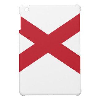 アラバマの旗の地図 iPad MINI カバー