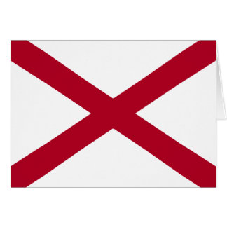 アラバマの旗 カード