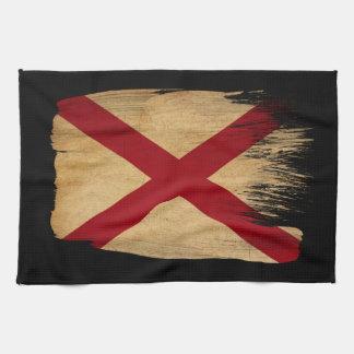 アラバマの旗 キッチンタオル