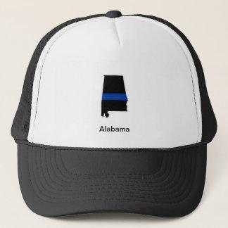 アラバマの薄いブルーライントラック運転手の帽子 キャップ