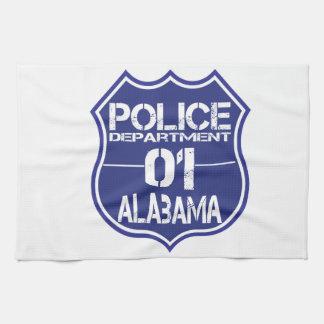 アラバマの警察の盾01 キッチンタオル
