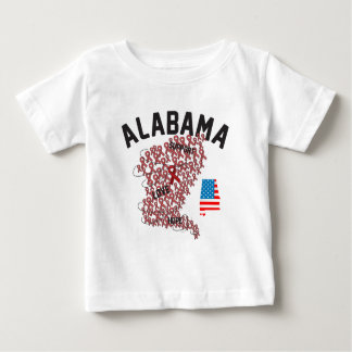 アラバマサポート2011年 ベビーTシャツ