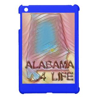"""アラバマ""""4生命""""のデジタル州の地図の絵画 iPad MINIケース"""