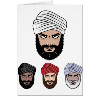 アラビアのイスラム教のベクトル カード