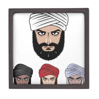 アラビアのイスラム教のベクトル ギフトボックス