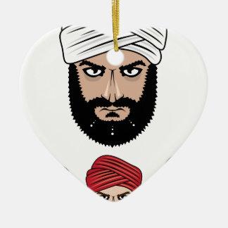 アラビアのイスラム教のベクトル セラミックオーナメント